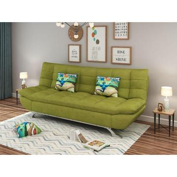 Sofa Bed Green Fabric sofa