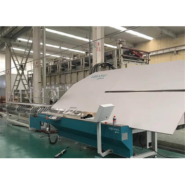 Aluminum bending and cutting machine