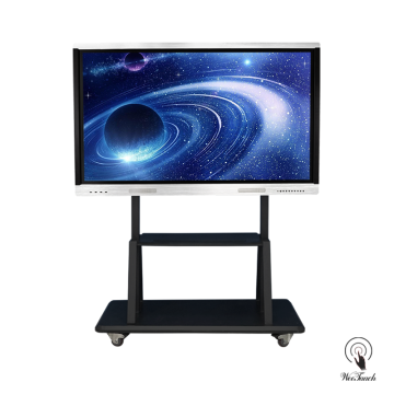 70 Inches All-In-One Touchscreen Display with mobile stand