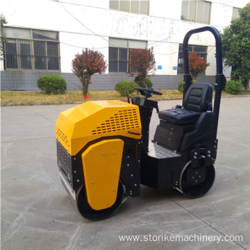 Ride on type steel wheel vibratory roller