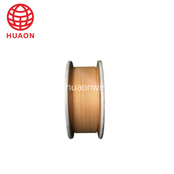 insulation double glassfiber winding flat wire