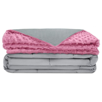 15lb Cotton Minky Weighted Blanket