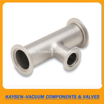 Stainless Steel KF Vacuum Reducing 3way Tee