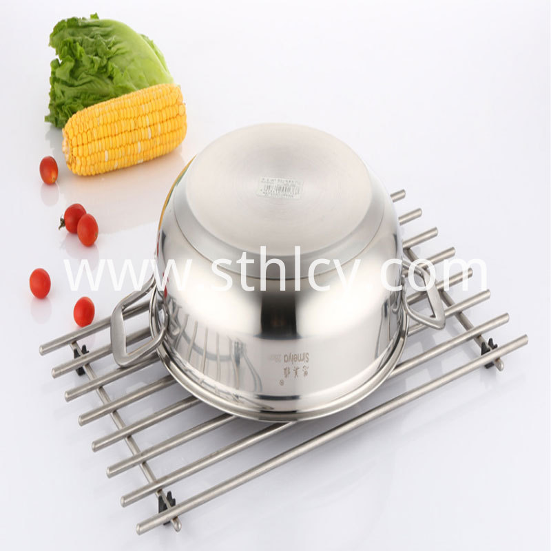 Stainless Steel Pot and Steamer