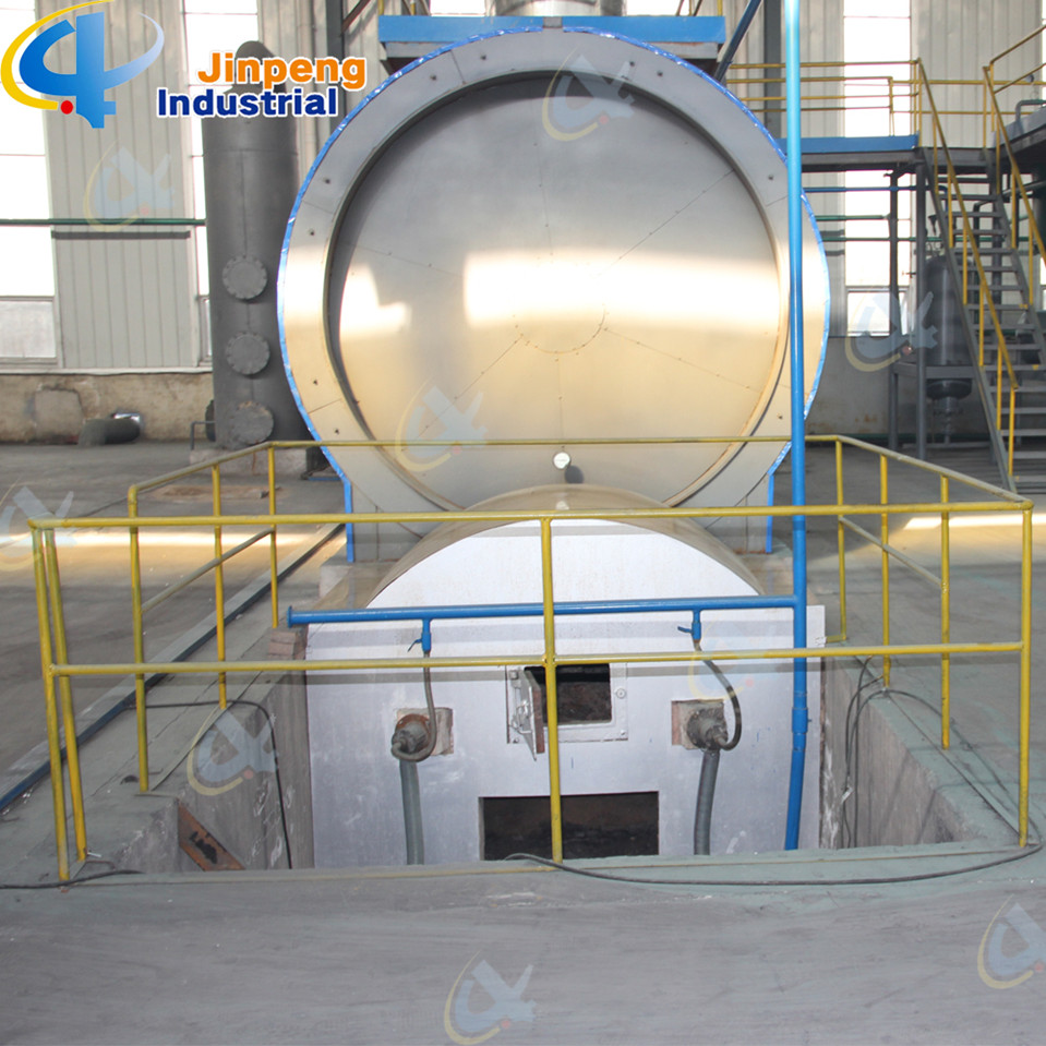 Tire Pyrolysis Oil to Diesel Distillation Plant