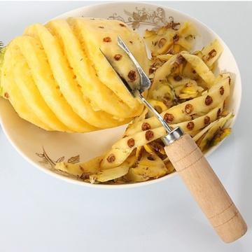 V Shaped Stainless Steel Pineapple Eye Peeler Seed Remover Fruit Knife Tools