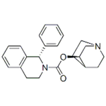 2(1H)-Isoquinolinecarboxylicacid, 3,4-dihydro-1-phenyl-,( 57251612,3R)-1-azabicyclo[2.2.2]oct-3-yl ester,( 57251613,1S)- CAS 242478-37-1