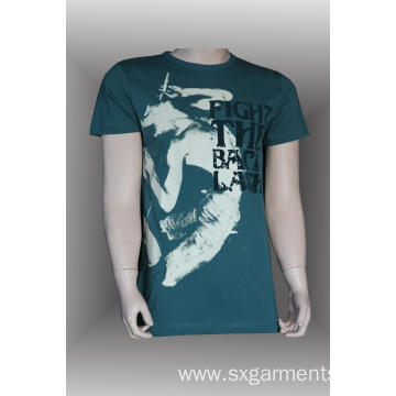 Custom 100% cotton t-shirt for men