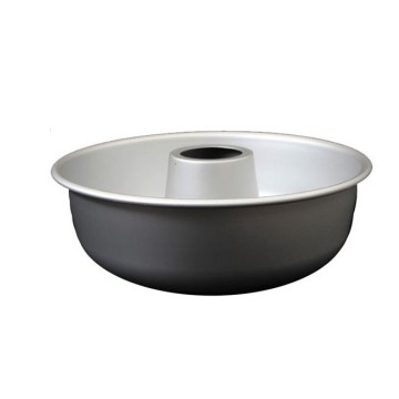 "7"" Non Stick Chiffon Cake Pan-Black"