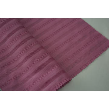 100% Cotton Warp Way Stripe Dobby Dyed Fabric