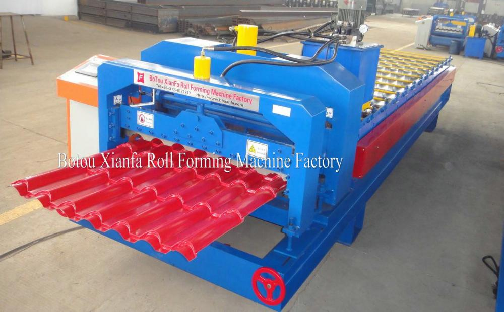 European style Roof Glazed Tile Roll Forming Machine