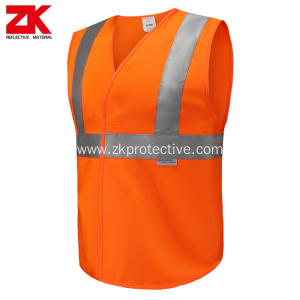 3M refelctive orange warning vest