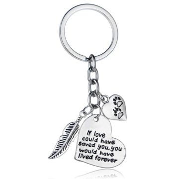 supply cute metal zinc alloy custom aluminum-alloy-keychain