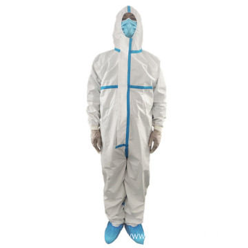 Low-cost plastic protective suit