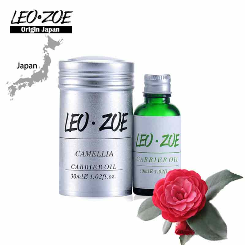 Famous Brand LEOZOE Pure Camellia Oil Certificate Of Origin Japan Camellia Essential Oil Etherische Olie 30ML