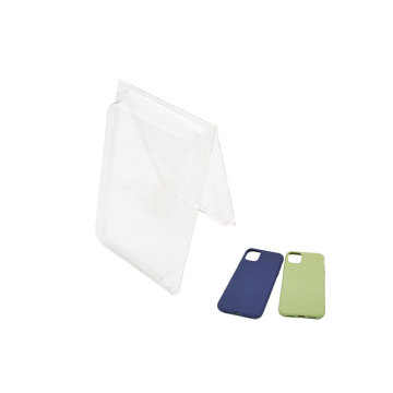 OEM phonecase clear plastic blister clam shell packaging