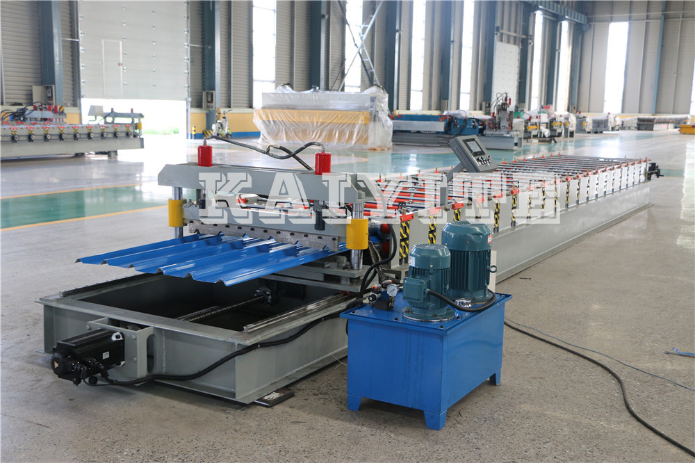 Construction Metal Roofing Ibr Sheet Roll Forming Machine