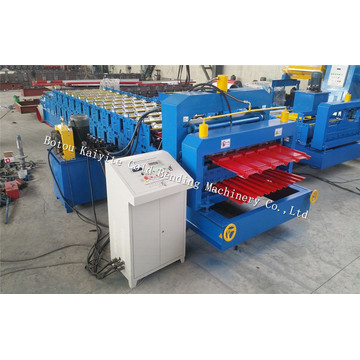 Adjustable Roof Panle Double Layer Roll Forming Machine