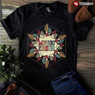 Mystic Earth Morel Mushroom T-Shirt