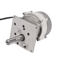 Brushless barrier gate DC motor with control system