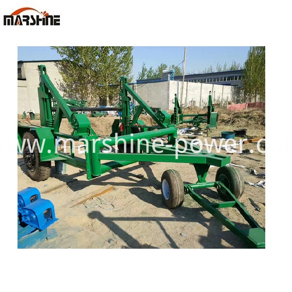 Self Loading Cable Trailer