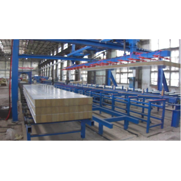 Stack Machine for sandwich panel
