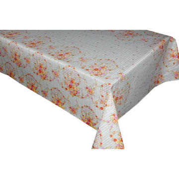 Elegant Tablecloth with Non woven backing Bathroom