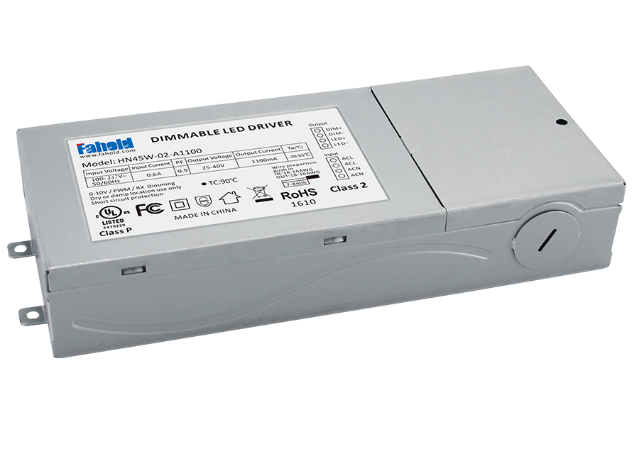 UL Metal Case AC100-347V Led Driver