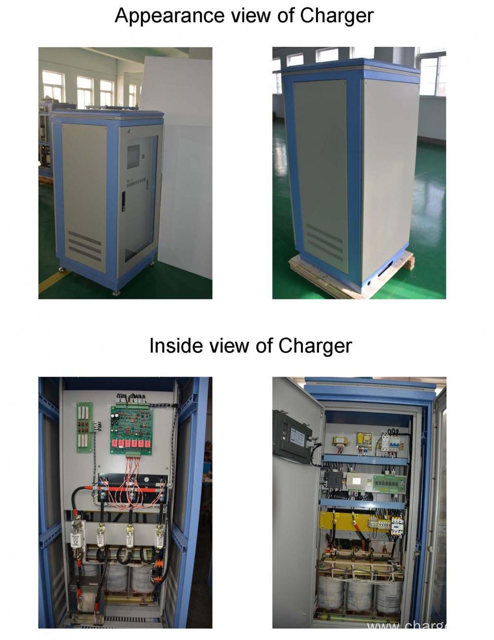 Lead Acid Battery Quick Charger for Electric Forklift