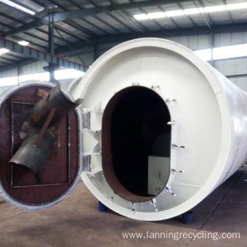 lanning waste recycling machine