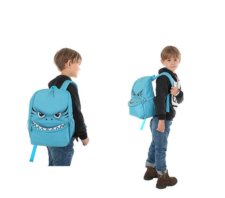 Animal backpack children's bag boys' kindergarten (1)