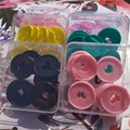35MM Upscale Quality Color Plastic Binding Ring Buckle DIY Mushroom Hole Loose-leaf Notepad Binding Rings Book Accessories