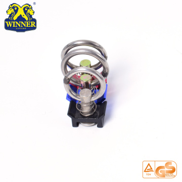 Top Quality Aluminum Base Single Stud Fitting With Stainless Steel O Ring