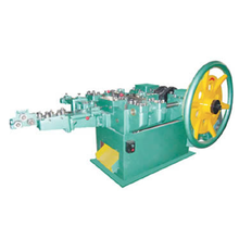 Double Cap Screw Nail Making Machine