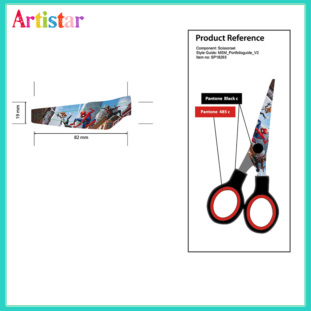 Spiderman Scissors