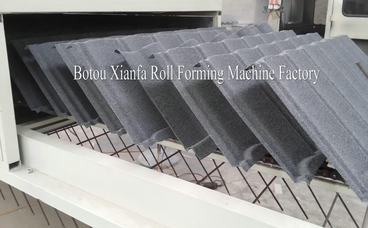 Stone Coated Roof Tile Forming Machine