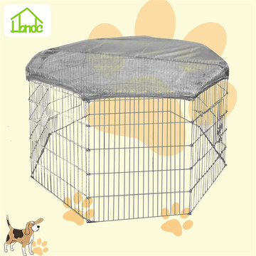 Galvanized outdoor welded dog playpen/dog fence/dog runs