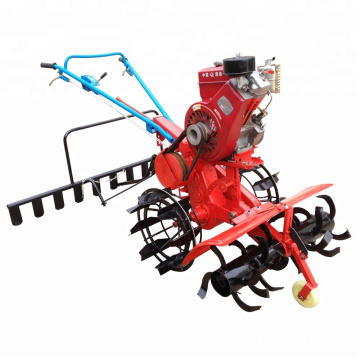 Diesel Engine Rotavator Farm Machine Mini Power Tiller