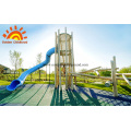 HPL Outdoor Playground Equipment Tower For Sale