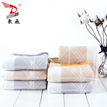 Beautiful dyed yarn cotton towel