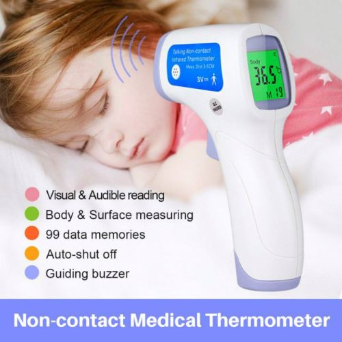 Medical Digital Forehead Ear Infrared Thermometer