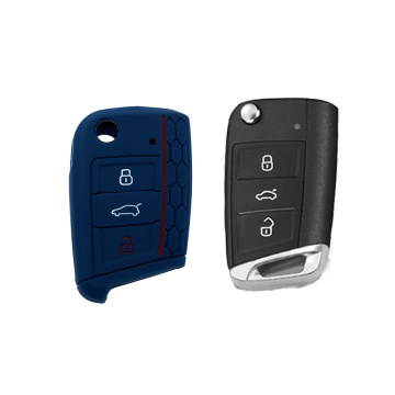 Customized car key cover for vw