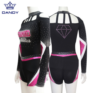 Custom Mystique Cheer Athletes Uniforms