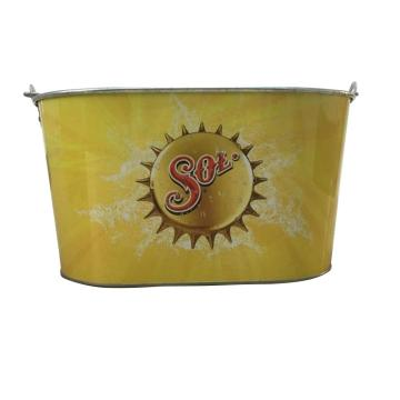 Large Size Beverage Galvanized Tin Bucket