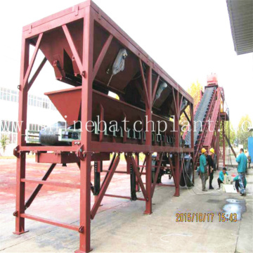 90 Construction Ready Mobile Concrete Batching Plant