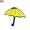 Metal Craft Custom Enamel Umbrella Pin