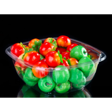 PET fruit box for vegetable and fruit industry