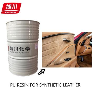 Pu resins with good abrasion-resistance