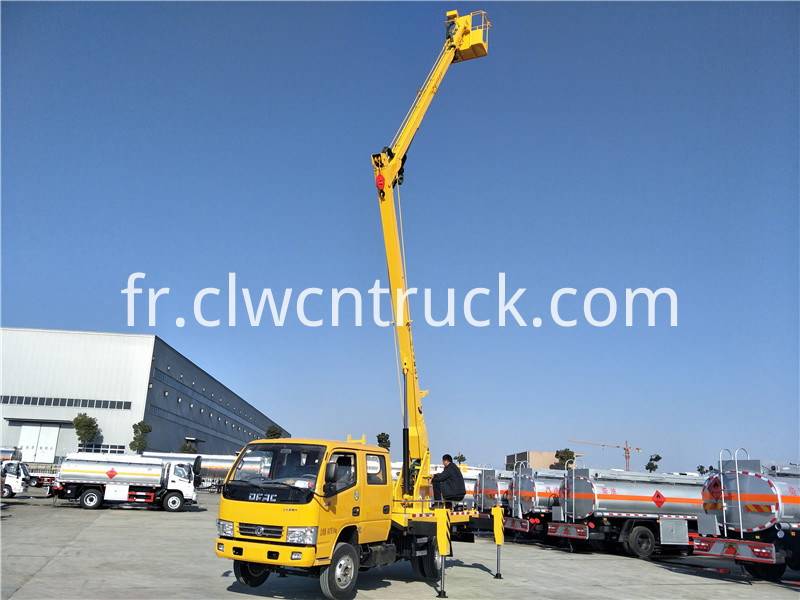 aerial working truck 4