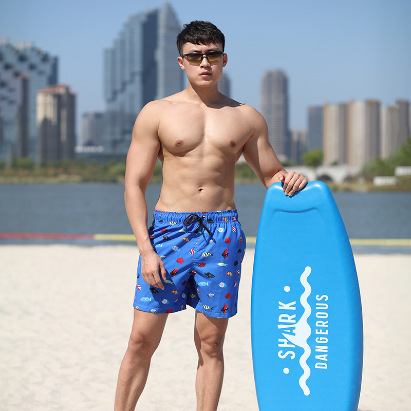 140GSM 100% Polyester Digital Print Man's Swim Short